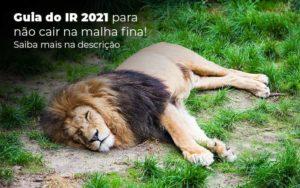 Guia Ir 2021 Para Nao Cair Na Malha Fina Saiba Mais Na Descricao Post 1 Organização Contábil Lawini - Contabilidade em São Paulo | Aficon Organização Contábil